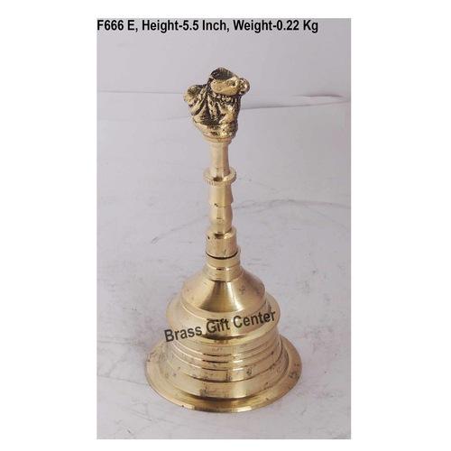 Brass Nandi Ganti No. 4 - 2.62.65.5 inch  F666 E