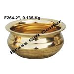 Brass Urli 1 Liter Diameter 4 Inch F264