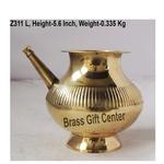 Brass Karwa Lota Salai No. 22 800 ml - 765.6 inch  Z311 L