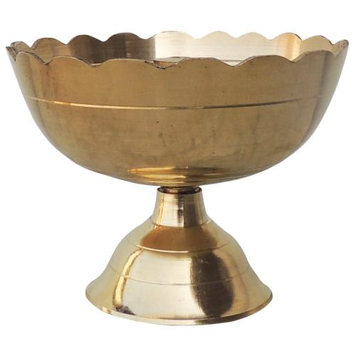 Brass Kamal Shape Deepak Diya - 3.4 nch (F635 F)