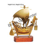 Brass Ship In Antique finish - 9 Inch MR219 A