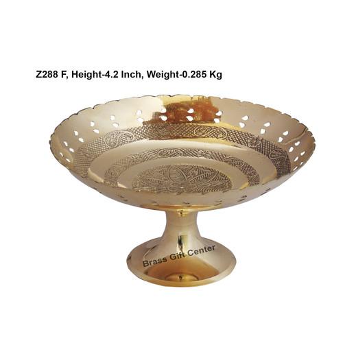 Brass Pan Jali Bata Bowl No.9 - 8 Inch  Z228 F