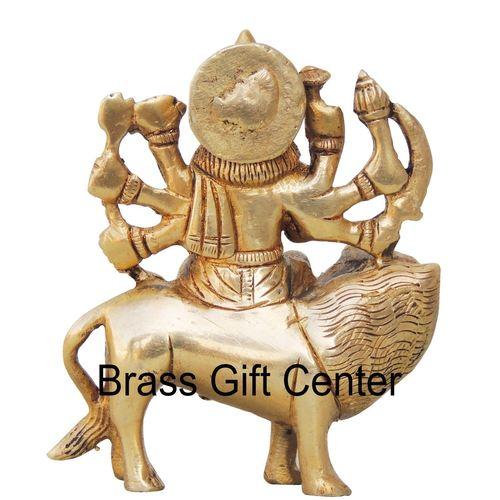 Brass Durga Statue Murti Idol - 3.5*1.5*4 Inch  (BS745 A)
