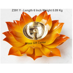 Brass And Iron Diya Deepak - 6 inch Z391 Y