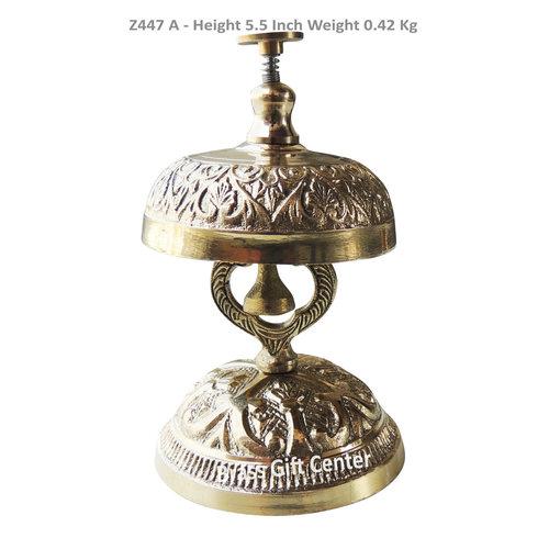 Brass Office Pushing Ring Bell - 5.5 Inch Z447 A