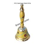 Brass Ganti Handbell No. 1 - 2.5*2.5*6.2 Inch  (Z167 A)