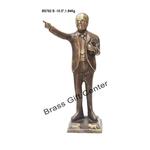 Brass Ambedkar Statue Idol Murti 1.8 Kg - 10.5 Inch BS792 B