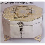 Pure Brass Pan Dan with Nickel plating- 7.55.56 Inch  Z265 D