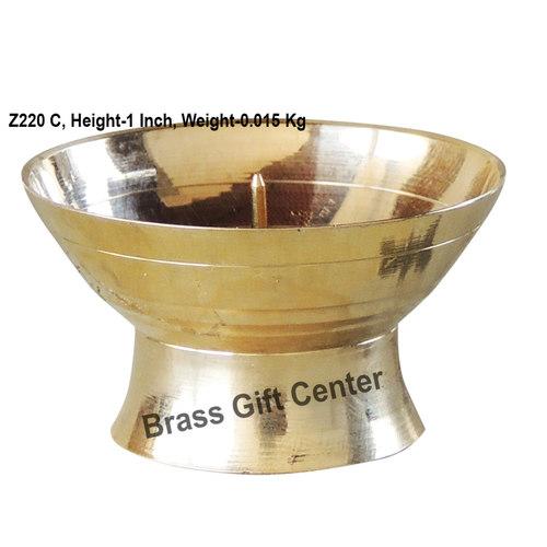 Brass Doopbatti Stand - 1.61.61 Inch  Z220 C