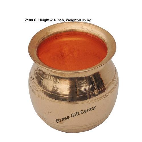 Pure Copper Lota No.1, 130 Ml - 2.42.42.4 Inch  Z188 C