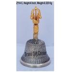 Bronze Kansa Hand Bell - 6 Inch  Z114 C