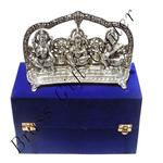 Lakshmi Ganesh Shinghasan Showpiece  - 5.5 inch