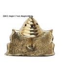 Brass Agarbatti Stand Plate Square- 2.3*2.3 Inch  (Z205 C)