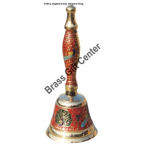 Brass Ganti Handbell No. 1 - 2.5*2.5*6.5 Inch  (Z168 A)