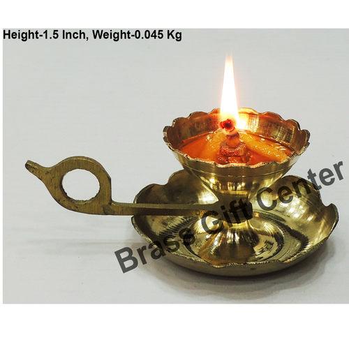 Brass Diya Deepak Sampat Jyoti No. 0 - 3.8*2.5*1.5 inch  (Z149 A)