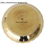 Brass Kachua Tortoise Plate No. 0 - 5.55.5 Inch  Z186 J