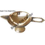 Brass Laxmi Deepak Diya No.4  - 5 Inch  (F626 E)