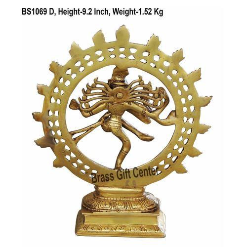 Brass Nataraja 1.5 kg - 7.5x2.5x9.2 Inch  BS1069 D