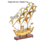 Brass Ship In Shinning Brass Polish finish - 26 Inch MR128 D