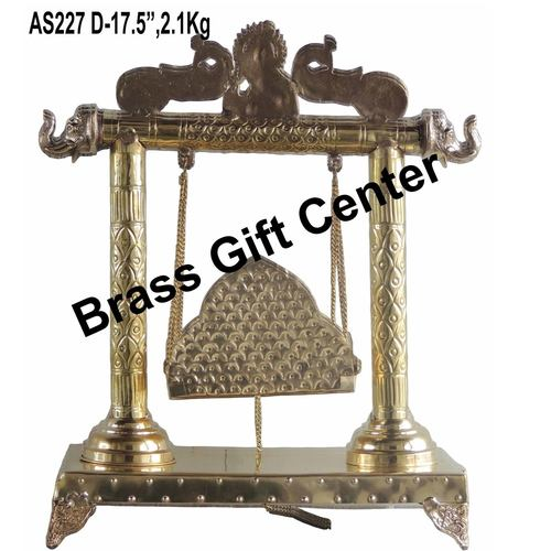 Brass Laddu Gopal Jhula - 14.56.317.5 inch  AS227 D