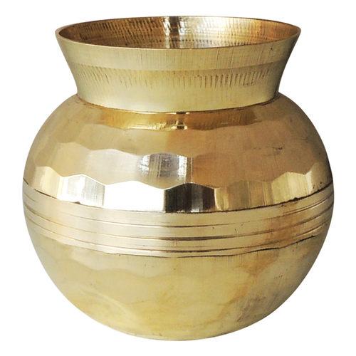 Brass Diamond Shape Lota No. 0, 320 ML Z481 B