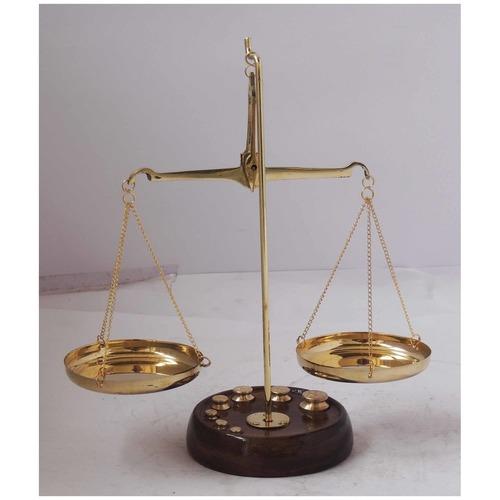 Brass Taarzu 50 gm Weighing Machine - 6.537.5 inch  Z303 D
