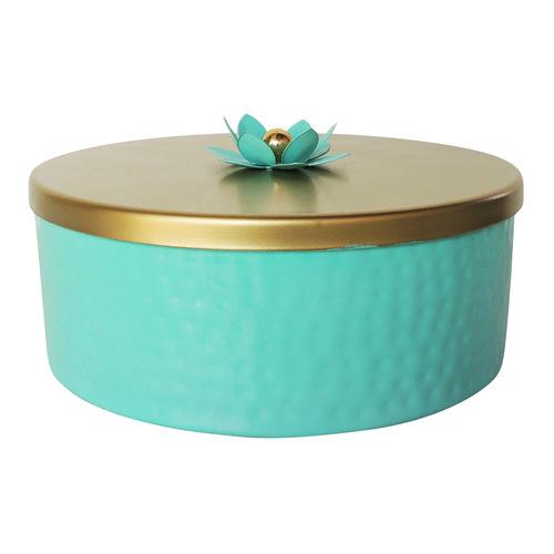 Decorative Round Candy Box - 8 Inch A38348