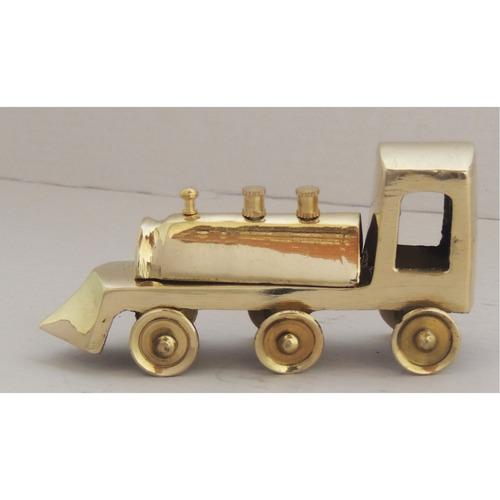 Brass Train Engine for Children Playing - 4.3x4.1x2.2 inch  Z253 A