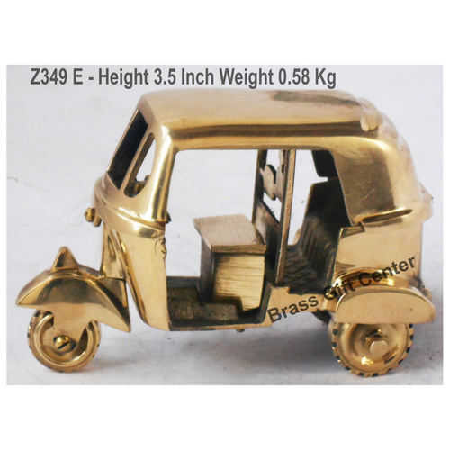 Brass Toy Auto Miniature For Children Playing- 6*3*3.5 iInch (Z349 E)