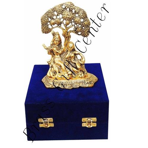 Radha Krishna Under Tree - 5*3*7 Inch   (AS179 G)