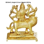 Brass Durgaji Small In Natural Brass Finish - 3.5 inch BS1044 D
