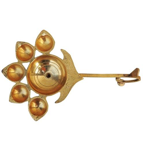 Panchmukhi Deepak Diya - 9.5*6*3.3 Inch  (F317 F)