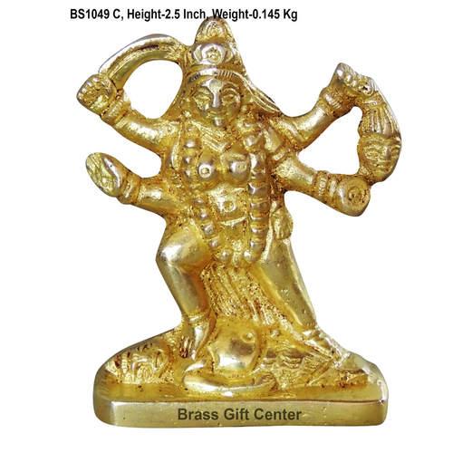 Brass Kali Mata Statue Murti idol 140 gm- 212.5 inch  BS1049 C