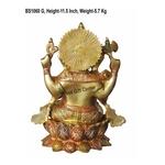 Ganesh on Kamal  StatueMurtiIdol - 11.5 inch BS1060 G