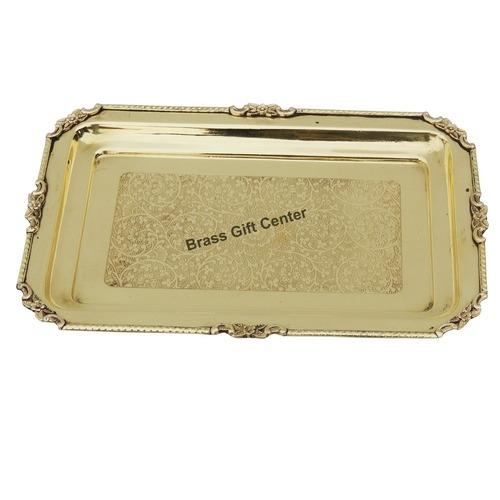 Brass Tray - 12.58.5 Inch  Z174 C