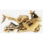 Brass Toy Bike R15 Miniature For Children Playing- 4.51.53 iInch  Z328 A