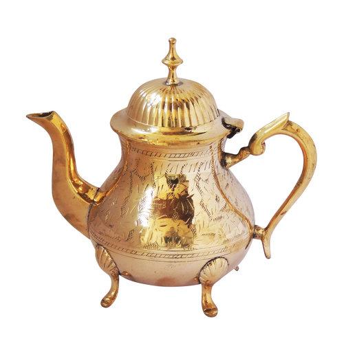 Brass Tea Pot Kettle 650 Ml -  858 Inch  Z274 B
