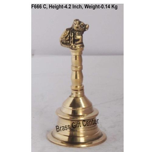 Brass Nandi Ganti No. 2 - 224 2 inch  F666 C