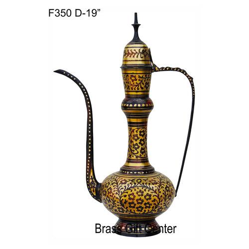 Brass Surahai Aftaba Black colour - 13720 inch  F350 D