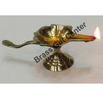 Brass Mahabharat diya deepak No. 1- 4.1*1.6*1.5 inch  (Z143 B)