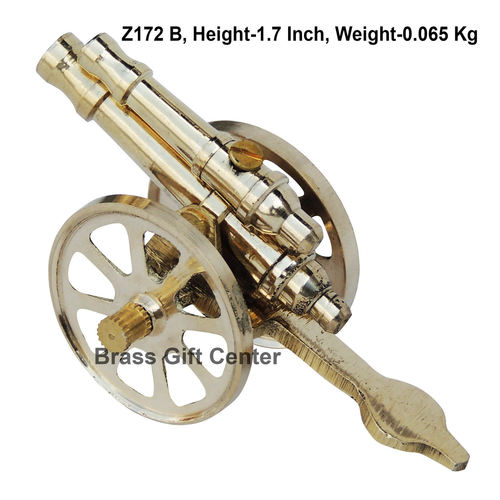 Brass Small Toop Cannon No 4 - 3.51.71.7 Inch  Z172 B