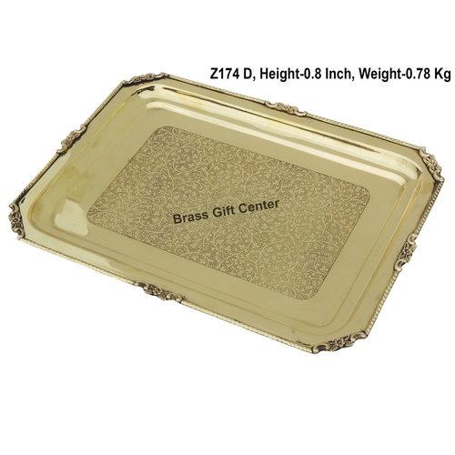 Brass Tray - 1511 Inch  Z174 D