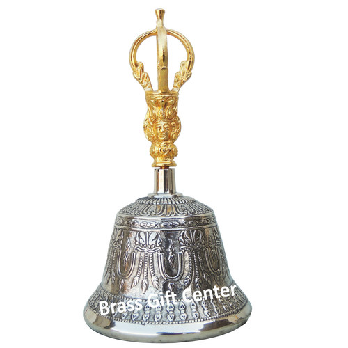 Kansa Table bell, Kansa Hand Bell, Hand Bell, Pooja Bell, Bronze Temple Bell, Pooja Temple Bell, Hanging Bell, Table Decor bell, Bronze Ringing Bell, Ring Bell