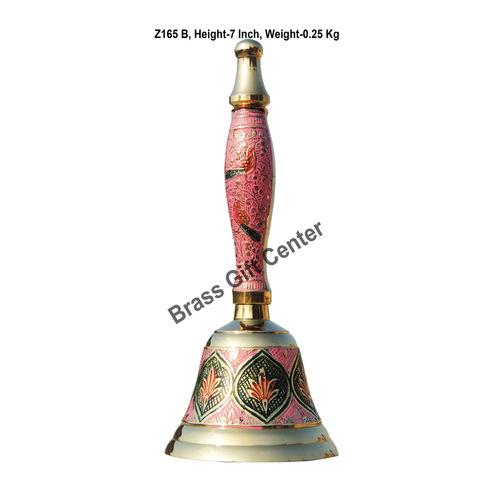 Brass Ganti Handbell No. 2 - 2.9*2.9*7 Inch  (Z165 B)