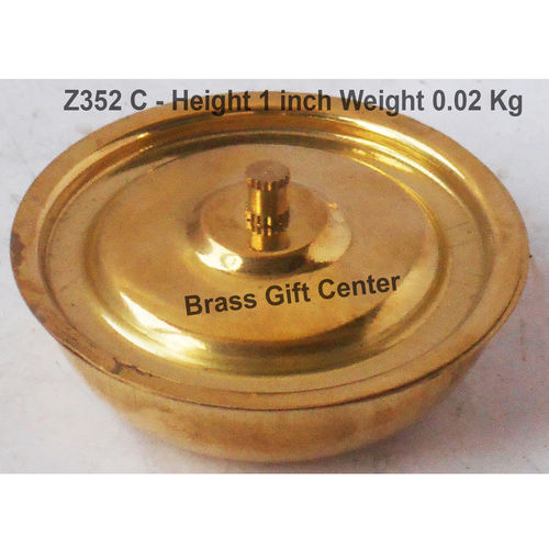Brass Donga Toy Miniature For Children Playing- 2.8 Inch (Z352 C)