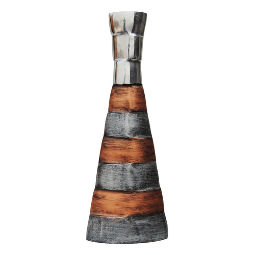 Aluminium Metal Flower Vase - 17 Inch  (A8209/17)