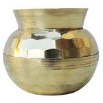 Brass Diamond Shape Lota No. 00, 300 ML Z481 A
