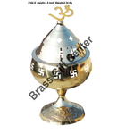 Brass Diya Deepak No.10 - 3.6*3.6*7.5 Inch  (Z164 K)