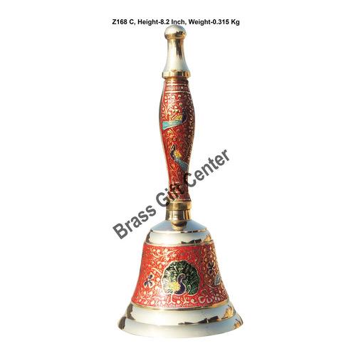 Brass Ganti Handbell No. 3 - 3.43.48.2 Inch  Z168 C