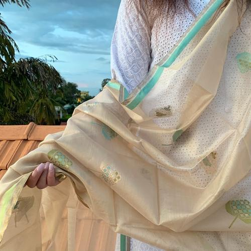 Winter Gold Chanderi Dupatta
